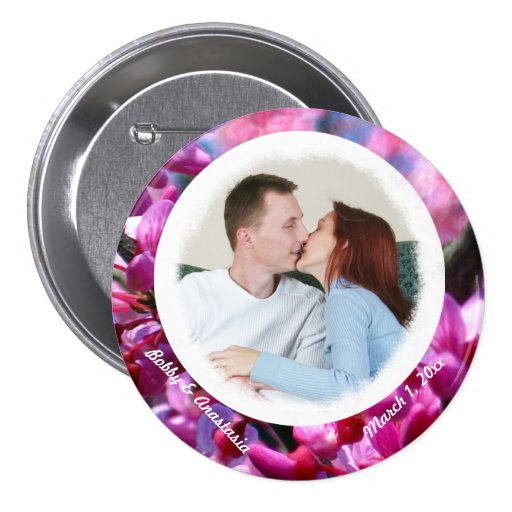 Thoughtfulness COUPLE'S Personalized Photo Button
