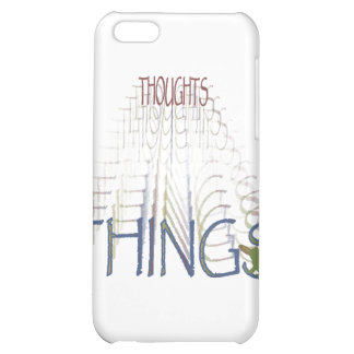Thoughts become things iPhone 5C cases