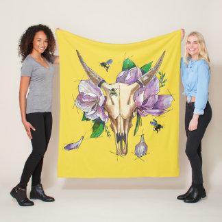 thoughts of spring fleece blanket