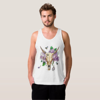 thoughts of spring tank top