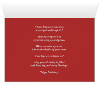 Thoughts of You Birthday Card