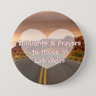 Thoughts & Prayers for those in Las Vegas Button