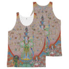 Thousand-Armed Avalokiteshvara All-Over Print Tank