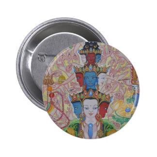 Thousand-Armed Avalokiteshvara Button