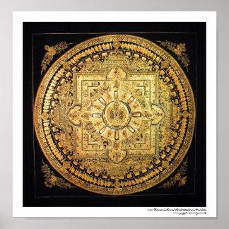 Thousand-Armed Avalokiteshvara Mandala Poster
