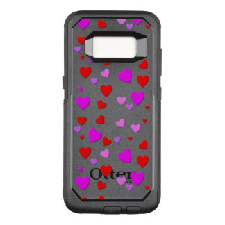thousand hearts for you with black background OtterBox commuter samsung galaxy s8 case