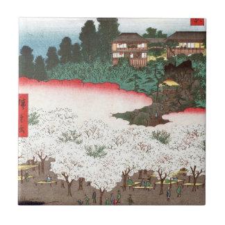 Thousand inferior wooden dumpling hill flower shop small square tile