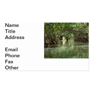 Thousand Islands Business Card Template