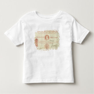 Thousand livre banknote with Louis XVI's Toddler T-Shirt