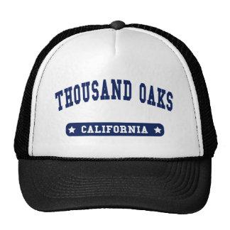 Thousand Oaks California College Style tee shirts Mesh Hat