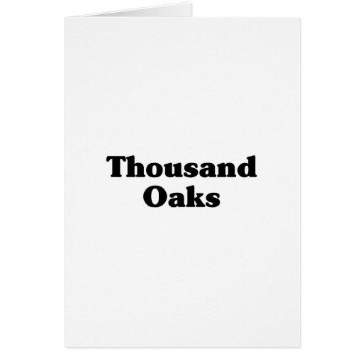 Thousand Oaks  Classic t shirts Cards