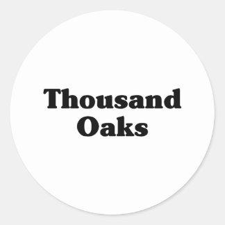 Thousand Oaks  Classic t shirts Sticker
