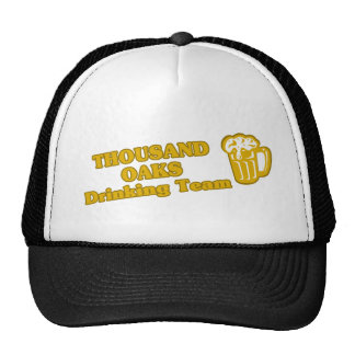 Thousand Oaks Drinking Team tee shirts Mesh Hat