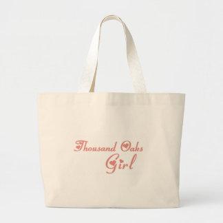 Thousand Oaks Girl tee shirts Canvas Bag
