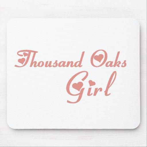 Thousand Oaks Girl tee shirts Mousepad