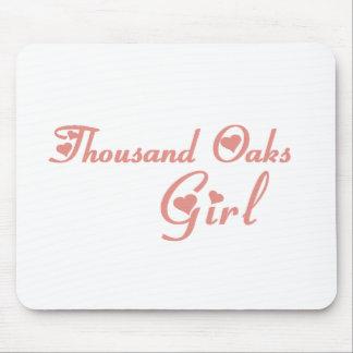 Thousand Oaks Girl tee shirts Mouse Pads