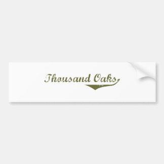 Thousand Oaks Revolution t shirts Bumper Sticker