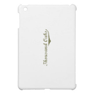 Thousand Oaks Revolution t shirts iPad Mini Case
