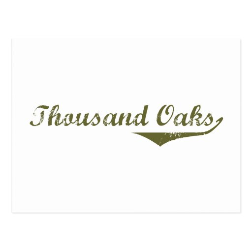 Thousand Oaks  Revolution t shirts Postcards
