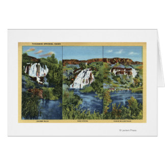 Thousand Springs, ID - Juniper, Wing, and Minnie Cards