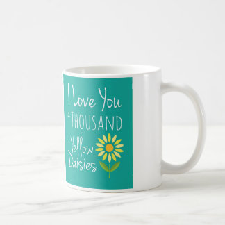 Thousand Yellow Daisies Mug