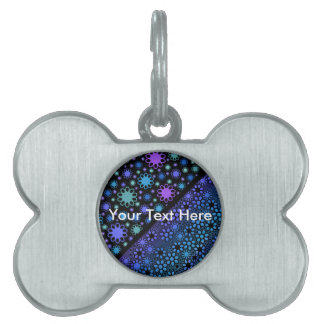 Thousands Flower Pet ID Tags