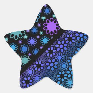 Thousands Flower Star Sticker