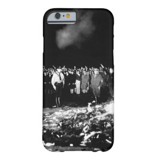Thousands of books smoulder in a_War image Barely There iPhone 6 Case