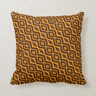 THP - 030 - Orange and Brown Cushion
