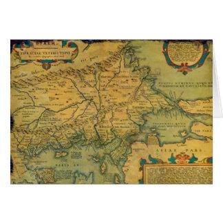 thracian map card