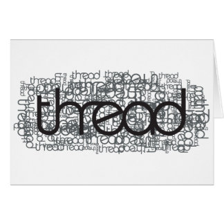Thread Show Greeting Cards