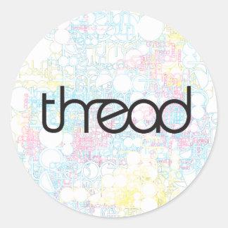 Thread Show Classic Round Sticker