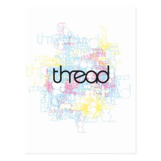 Thread Show Post Card