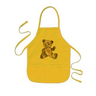 Threadbare Teddy Bear Apron