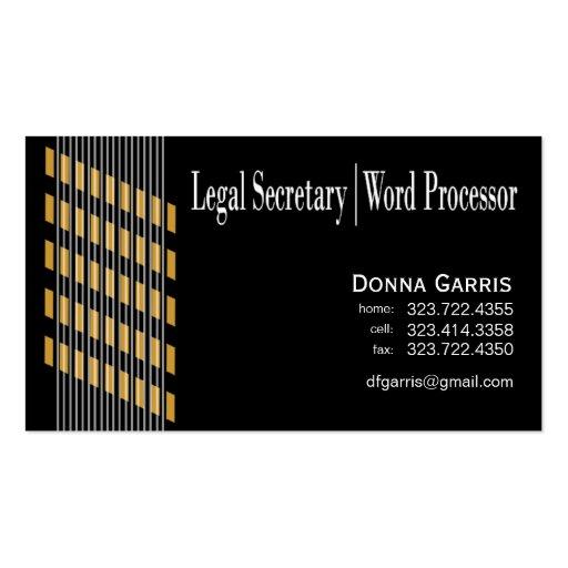 Threaded Ribbons Legal Secretary Word Processor