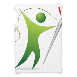 Threading The Needle Stick Figure Man Case For The iPad Mini
