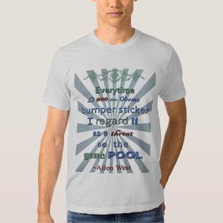 Threat to the gene pool... t shirt