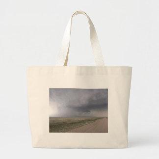 Threatening Storm Jumbo Tote Bag