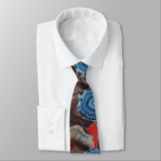 Three Agates Tie