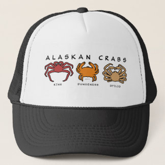 THREE ALASKAN CRABS TRUCKER HAT