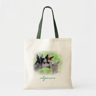 Three Alpacas Tote Bag