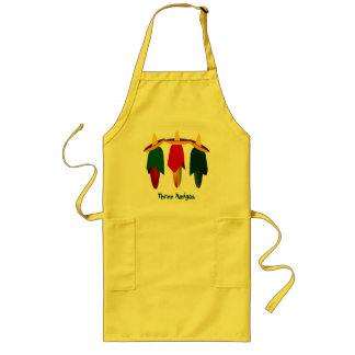 Three Amigo Hot Peppers Apron