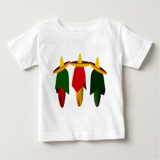 Three Amigo Hot Peppers Infant T-shirt