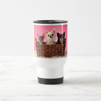 Three Amigos Chihuahua Trio Travel Mug