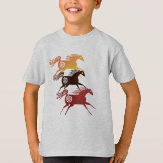 Three Ancient Horses Shirts