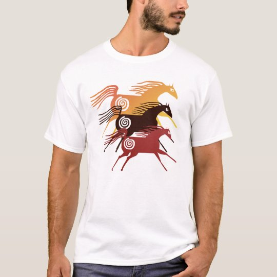 Three Ancient Horses T-Shirt