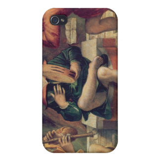 Three angel musicians iPhone 4/4S cover