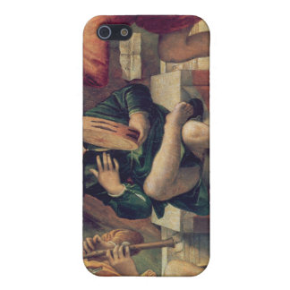 Three angel musicians iPhone 5/5S cover