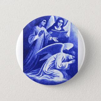 Three Angels 6 Cm Round Badge