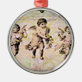 Three Angels (Antique) Christmas Ornament